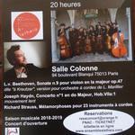 A-letheia  et Léo Marillier en concert salle Colonne