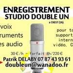 Studio Double-Un - Enregistrement de vos projets audio Crest (26)