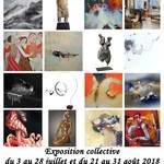 Exposition collective estivale à la Galerie Laute