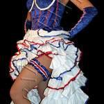 Tenue2Sène - Robe paillettes de soirée - atelier cabaret boutique