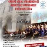 Concert Choeur et Orchestre hommage au centenaire 14-18