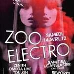 ZOO ELECTRO CLUB CHEVAL! CANBLASTER & SAM TIBA + REWORKS + STATUE