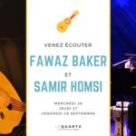 Concert de chants syriens
