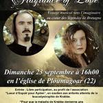 """Concert de Fragrance of Love """"Lueur d'espoir pour Ayden"""""""