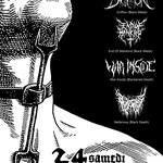 Griffon, End of mankind, War inside (black/death metal)