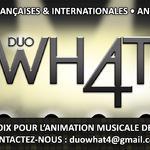 What 4 - LE duo guitare-voix pour VOS événements