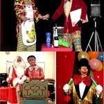 l'estrade en fete - clown magicien noël anniversaire paca