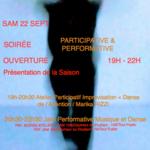 CanaLab / Impro - Performance et soirée participative
