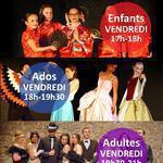 Cie Kaféïne - Cours de Théâtre enfants, ados et adultes