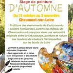 """Stage """"Fééries d'automne"""" en bord de Loire"""