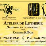 Atelier A Tout Vent  - REPARATION ET ENTRETIEN DES INSTRUMENTS DE MUSIQUE A VENT