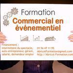 Formation Commercial en événementiel. Diffusion d'événements et de spectacles.