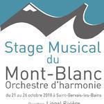 """Stage Musical du Mont-Blanc 2018 """"Parfums de montagne"""""""