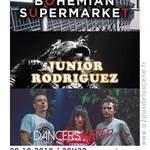 BOHEMIAN SUPERMARKET + DANCERS IN RED  + JUNIOR RODRIGUEZ