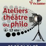 LÉCUME - Ateliers Théâtre ou  Philo/pratique de l'attention  4/17 ans