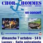 Chor'hommes en concert