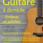 Nicolas RAYNAUD  - Guitariste depuis plus de vingt ans donne cours de guitare