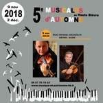 5e Musicales d'Automne en Haute Bièvre, Duo Violon Alto