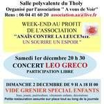 Weekend au profit de  '' Anaïs contre la leucémie