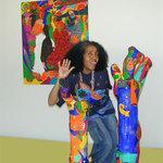 Aconcha - Créatrice cubaine. Art primitif contemporain.