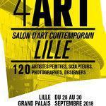 4ART: SALON DART CONTEMPORAIN À LILLE