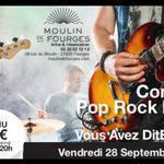 Concert Pop/rock au Moulin de Fourges