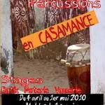 Stage de danse africaine et percussions et artisanat en Casamance (Sénégal)