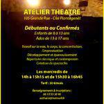 Théâtre de L'Acthalia - Atelier Théâtre pour enfants et adolescents