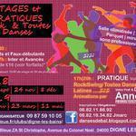 """Stages """"Toutes Danses"""" suivis d'une pratique de 4h"""