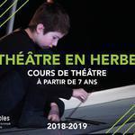 Compagnie des Lucioles - Théâtre en Herbe : Cours de théâtre
