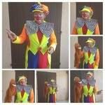 magicien ventriloque et sculteur de ballons