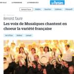 Chorale Musaïques (50 choristes) recrute chanteurs/choristes