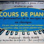 Shirley Marie - Cours de Piano et de Chant tous publics 35160