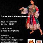 Nina Faramarzi Association Atash -  Cours de la danse Persane  Tous les vendredis