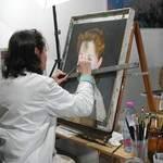 stages de peinture à l'huile