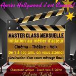 MASTER CLASSE CINEMA-THEATRE-VOIX à Cannes!
