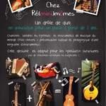 Chez Re(MINI)mômes - un mini concert pour découvrir une vingtaine d'instruzik