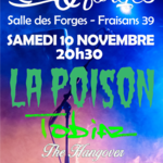 LA POISON Concert événement