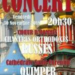 """Concert """"Chantres Orthodoxes Russes"""""""