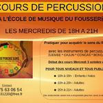 Association Geo'Percus'Sons - Cours de Percussions
