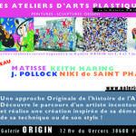 Stages/ Ateliers d'Art de la galerie ORIGIN
