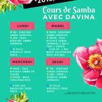 Les Danseuses d'Or - Cours de Samba