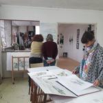 Atelier Artcanthe Trévoux - Cours de dessin et peinture adultes ados juniors