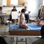 Atelier de Nathalie Broyelle - Cours de dessin avec modèle vivant
