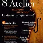 Stage de lutherie : construire un violon baroque avec Andreas KORZCAK (Belgique), 22-29.08.2010, Gruyères (Suisse)