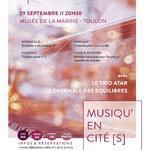 : MUSIQU EN CITÉ(S) Trio Atar & Ensemble des Equilibres