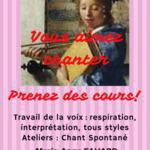AMARYLIE - COURS DE CHANT