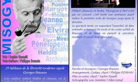 Association Les Passagers du Vent - Misogynie à part, portraits de femmes chez Brassens