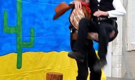 Comic Cowboy - Le duo clownesque pour enfants