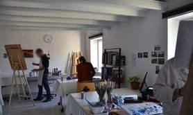 Peinture acrylique initiation